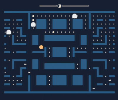 Pong + Pacman + Space Invaders ! !  !