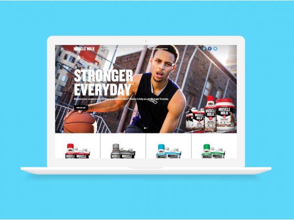 Muscle Milk Website Relaunch